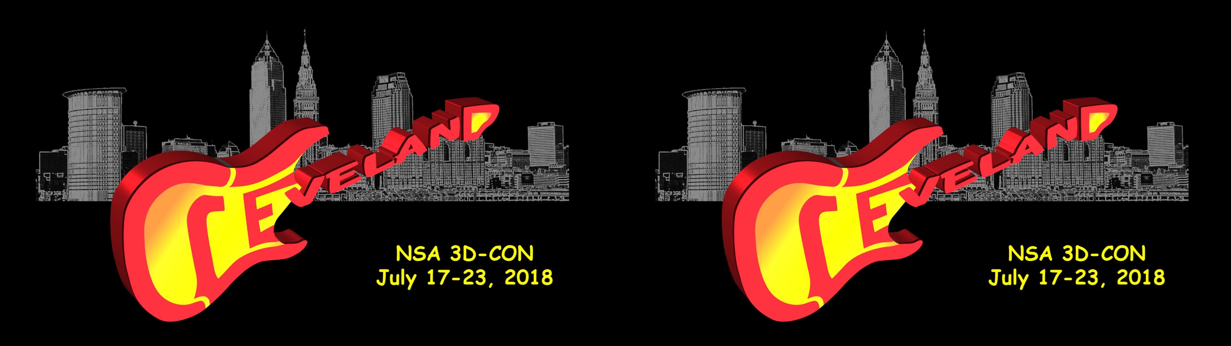 NSA 3D-CON 2018 logo