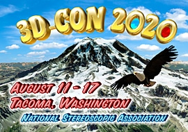 3-D Convention 2020, August 11-17, Tacoma Washington USA, National Stereoscopic Association