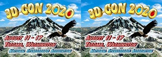 3-D Convention 2020, August 11-17, Tacoma Washington USA, National Stereoscopic Association