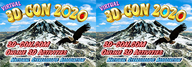 Virtual 3-D Convention 2020, National Stereoscopic Association