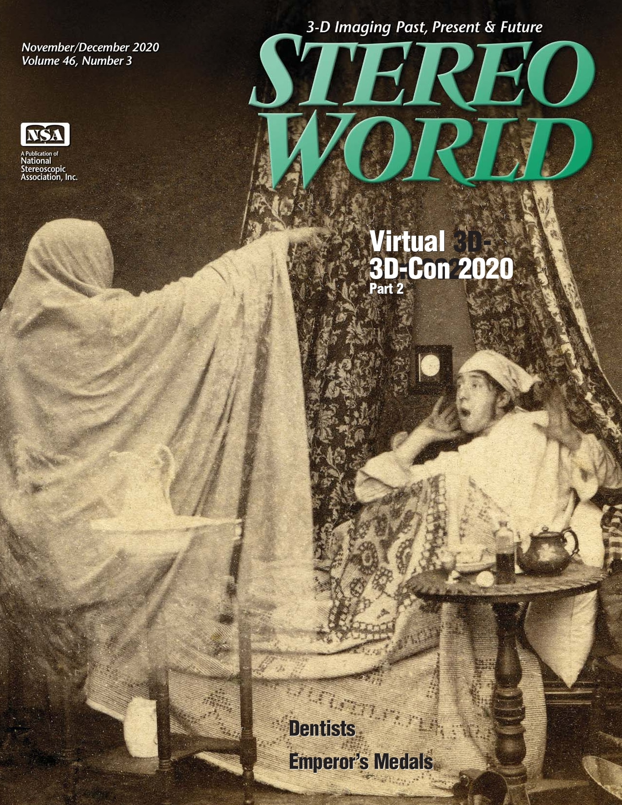 Stereo World magazine cover image Vol 46 issue 3 Nov Dec 2020